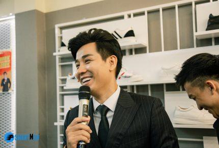 MC Nguyên Khang góp mặt trong chương trình khai trương cửa hàng Smartmen