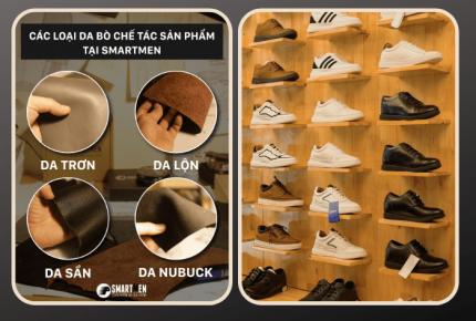Điểm mặt các ưu điểm tuyệt vời của chất liệu da giày Smartmen